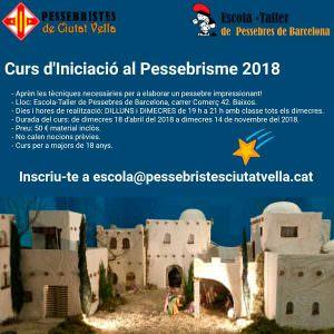 Curs d'iniciació al pessebrisme @ Escola-taller de pessebres   Barcelona   Catalunya   Espanya