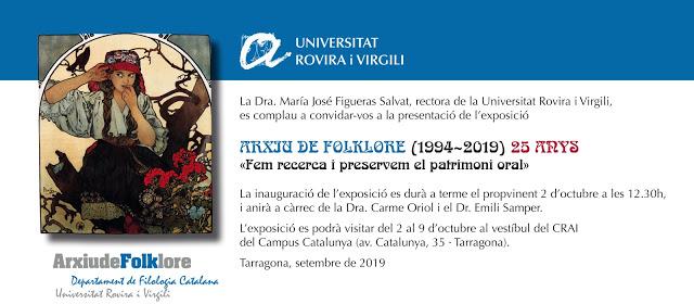 L'Arxiu de Folklore celebra els 25 anys amb una exposició